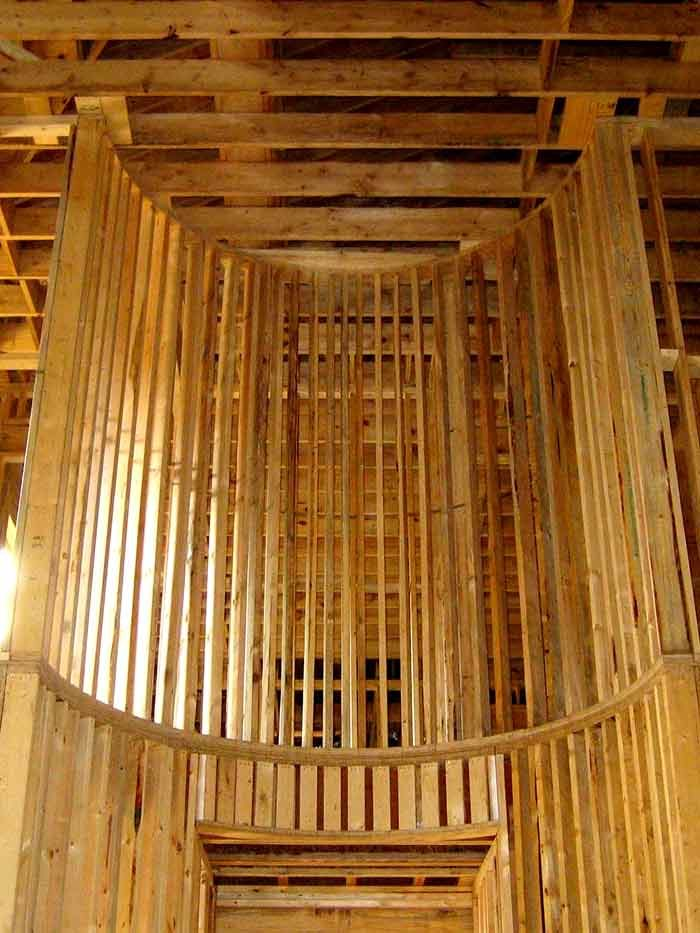 Framing-Massive-Curved-Wall